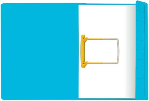Clipmap Jalema Secolor A4 270 grams karton blauw. Afname per 10 stuks.