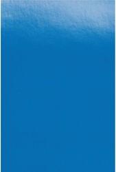Hardfoliekaft GBC A4 Polycover 300 micron blauw 100 stuks.