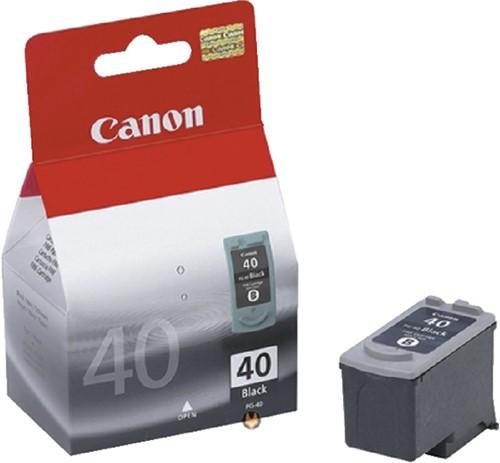 Inktcartridge Canon PG-40BK zwart.