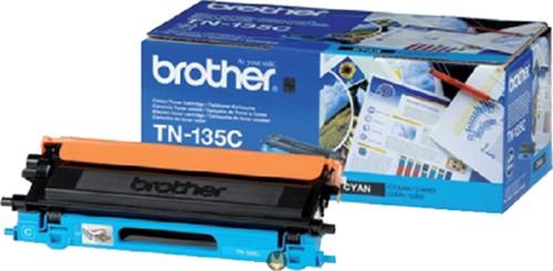 Toner Brother TN-135C blauw.