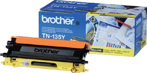 Toner Brother TN-135Y geel.