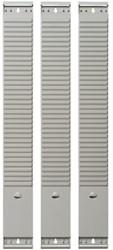 Planbord element Atlanta A5544-231 94mm/3 punten 50 sleuven grijs voor kaartjes 77mm.