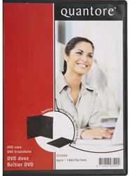 DVD doos Quantore 7mm leeg verpakt per 5 stuks.