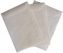 Envelop Quantore loonzak 114x162 50 grams pergamijn 1000stuks.