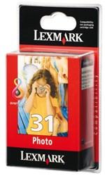 Inktcartridge Lexmark 31 18C0031E foto kleur.