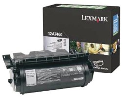 Toner Lexmark 12A7460 prebate 5K zwart.
