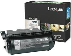 Toner Lexmark 12A7462 zwart.