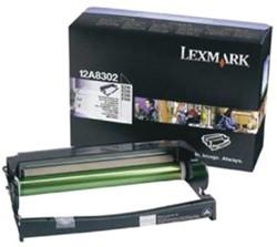 Drum Lexmark 12A8302 30K zwart.