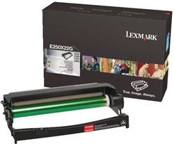 Drum Lexmark E250X22G 30K zwart.