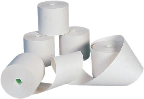 Pinrollen 57x40x12mm - 20 meter thermisch papier per pinrol. Afname per 5 rol.