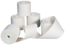 Pinrollen 57x30x8mm - 11 meter thermisch papier per pinrol. Afname per 5 rol.