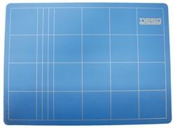 Snijmat Desq A4 blauw 220x300mm.