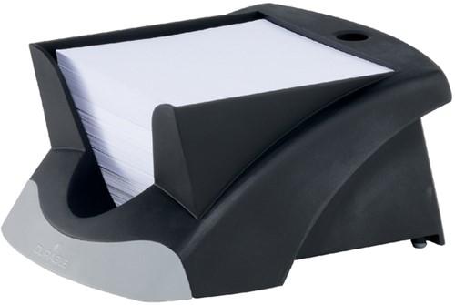 Memokubus Durable Vegas zwart, incl. 500 vel papier 90x90mm.