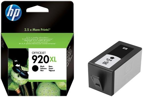 Inktcartridge HP CD975AE 920XL zwart HC.