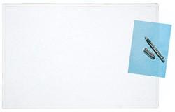 Bureau onderlegger Rillstab 40x60cm mat transparant.
