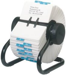 Kaartenmolen Rolodex RL66704 57x102mm 500 kaarten zwart.