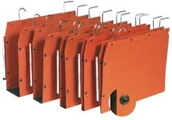 Hangmap Elba TUB folio U-bodem 15mm oranje.  Afname is per 25 stuks.