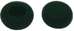 Oordopjes t.b.v. Philips headset LFH130/131/134/234/334  zwart. Afname per 2 stuks.
