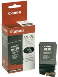 Inktcartridge Canon BX-20 zwart.