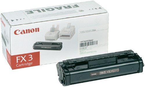Toner Canon FX-3 zwart.