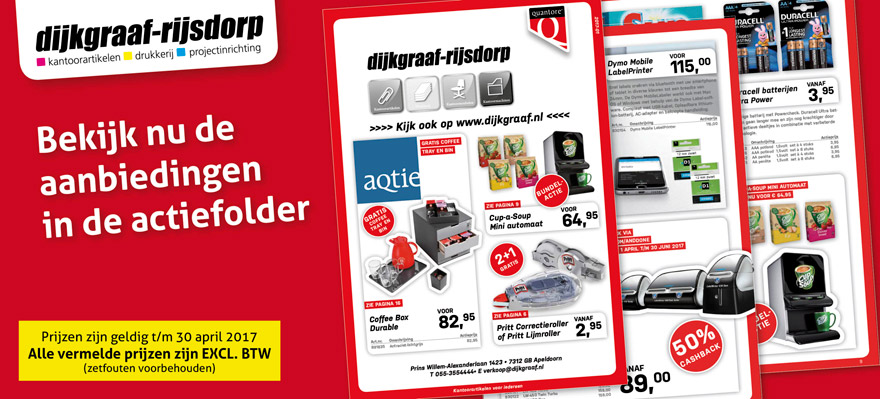 Actiefolder Office Offers