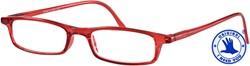 Leesbril I Need You model Adam kleur rood sterkte +2.00dpt.