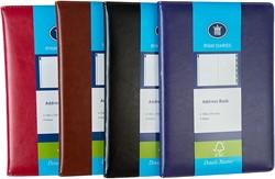 Adresboekje Ryam A5 DeLuxe assorti kleuren.