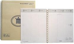 Agenda jaarinhoud gebonden of spiraal