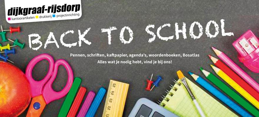 Back to School artikelen