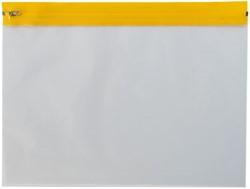 Beschermhoes A4 tbv tekeningen transparant met rits. Afname is per 5 stuks.
