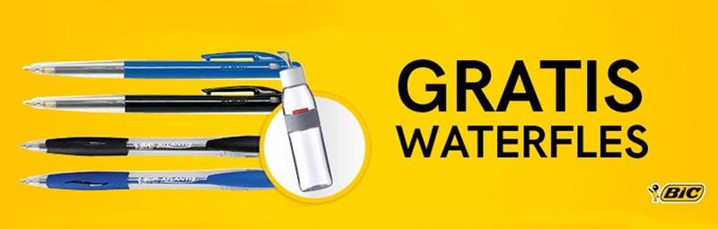 Gratis Maped waterfles bij Bic