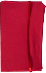 Rekbare boekenkaft Dresz A4 solid colours Red.