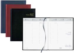 Agenda 2018 Brepols Timing 7 dagen per 2 pagina's 17,2x22cm omslag: assorti kleuren papier: wit (900034).