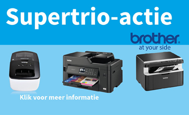 Brother Supertrio printer actie!