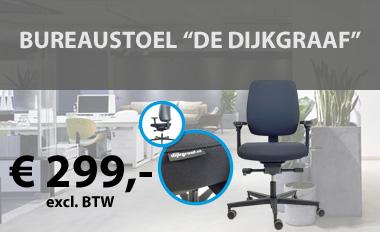 Actie bureaustoel 'De Dijkgraaf'.