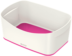 MyBox Leitz opbergtray 246x98x160mm wit/rose.