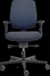 Bureaustoel 'De Dijkgraaf' Rovo in kleur zwart.