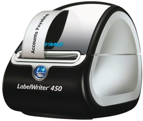 Labelprinter Dymo LabelWriter LW450 - t/m 31-1-2020 4 rol etiketten 28x89mm gratis.
