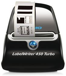Labelprinter Dymo LabelWriter LW450 turbo.