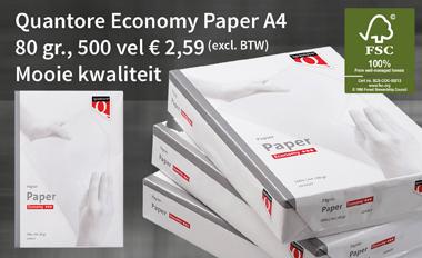 Actieprijs Quantore Economy Paper A4