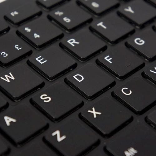 Toetsenbord Ergo Compact Qwerty zwart.-3