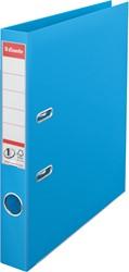 Ordner Esselte A4 smalle rug 50mm lichtblauw.