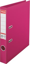 Ordner Esselte A4 smalle rug 50mm Fuchsia.