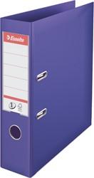 Ordner Esselte A4 brede rug 75mm violet.