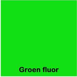 Etalagekarton fluor groen 4x6cm 380 grams pak van 50 vel.