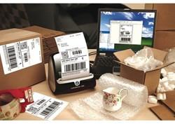 Etiket 104x159mm verzendetiket extra groot wit 220 stuks (Dymo 904980 compatible).