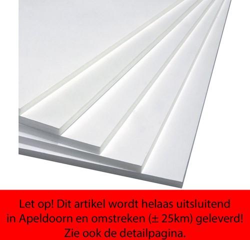 Foamboard Office 50x70cm dikte 5mm 2-zijdig wit.