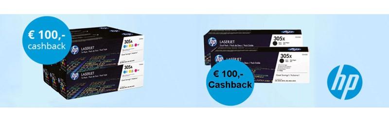 Cashback HP toners