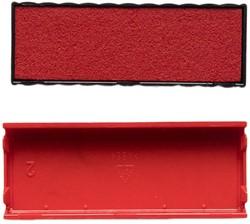 Inktkussen t.b.v. Trodat 4817 rood.