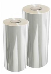 Inpakfolie transparant (bloemenfolie) 50cm x 500m dikte 0.025mm glashelder transparant.
